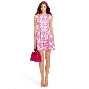 DVF Jeannie Cotton Fit and Flare Dress